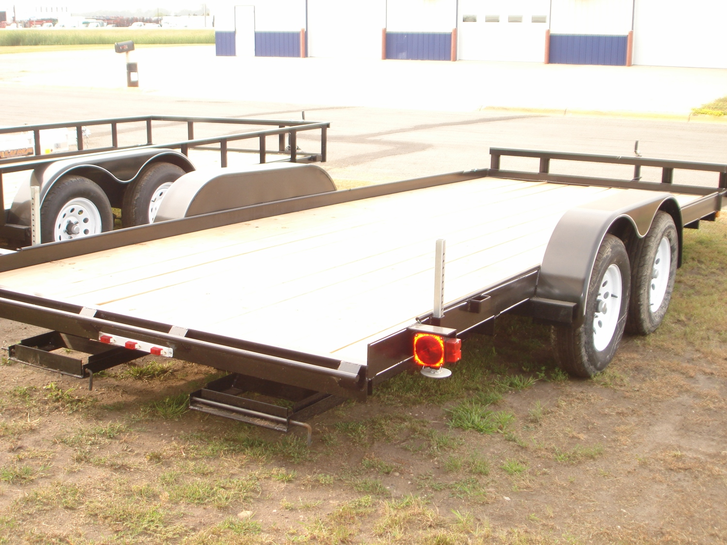 Open Flatbed Trailers