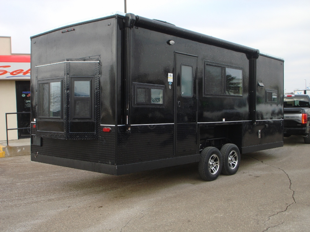 Outstanding 2019 Ice Castle 8X21 Rv Hybrid Extreme Nighthawk Park N Sell Door Handles Collection Olytizonderlifede