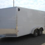 REPOSSESSED 2018 Stealth 7×14 enclosed cargo trailer