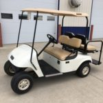 2010 EZGO TXT PDS with rear seat