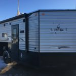 pre-owned 2018 Ice Castle 8×17 RV Edition Hybrid